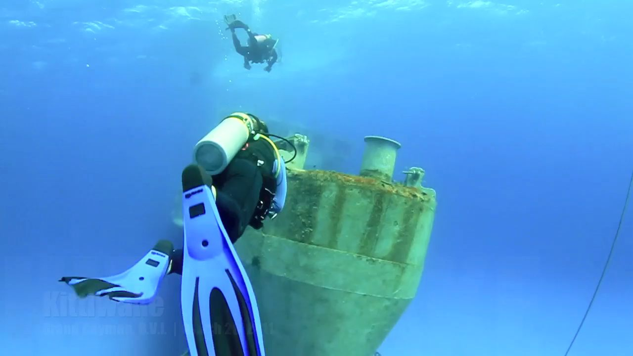 Underwater with the USS Kittiwake